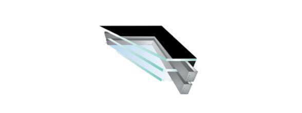 Custom Rooflights: Tripled Glazed Safety Glass