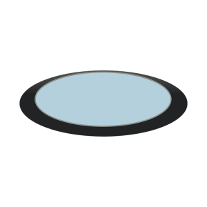 Custom Rooflights: Round Skylight / Round Rooflight