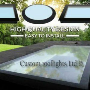 Flat Rooflight / Skylight