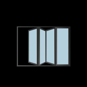 Custom Rooflights: Bi-Fold Doors (Short)